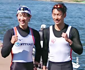 西村光生(右)、古田直輝組