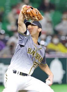 2番手で好投した伊藤将司