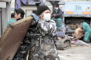 震災直後に毎日のように被災地に足を運んでボランティア活動を行ったブレイズ