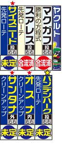 ヤクルトの主な外国人選手と来日予定。赤★は新入団。黄★は移籍