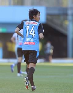 現役時代の中村憲剛(2020年12月27日の天皇杯準決勝)