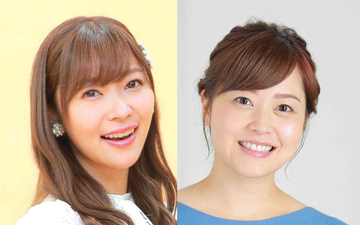 日本テレビの4月改編の目玉となった指原莉乃(左)と水ト麻美アナウンサー
