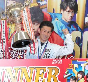 昨年の平和島でクラシック連覇を飾った吉川。今年は史上初の同一SG3連覇に挑む