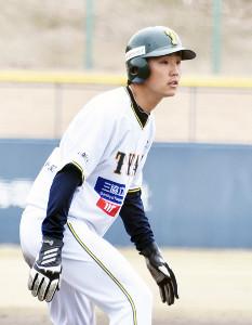 1安打、3盗塁と活躍した松村