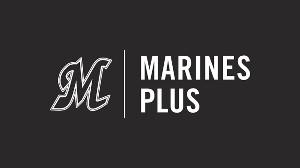 ロッテ球団公式デジタルサービス「Marines Plus(マリーンズプラス)」のロゴ