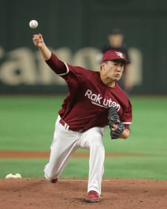 楽天に復帰した田中将大。今季のパ・リーグの「顔」だ
