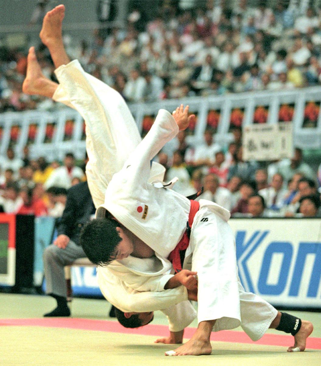 95年の世界柔道はオール一本勝ちで優勝