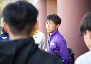 聖火リレーへの思いを語った駒大・藤田敦史ヘッドコーチ