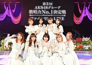 AKB48グループ歌唱力NO.1決定戦ファイナリストLIVEに出演したメンバー