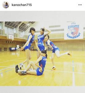 狩野舞子さんのインスタグラム(@kanochan715)より