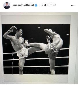 魔裟斗のインスタグラム(@masato.official)より