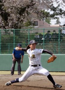 神戸弘陵の右腕・島野は5回3失点。決勝進出はならなかった