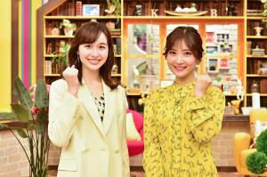 ブランチファミリーに加入する宇賀神メグアナ(左)、野村彩也子アナ(C)TBS