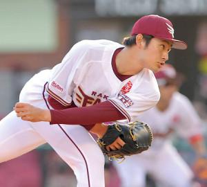 8回途中から登板した6番手・渡辺佑樹