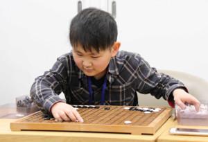 視覚障がい者として初めての日本棋院院生になった岩崎晴都さん