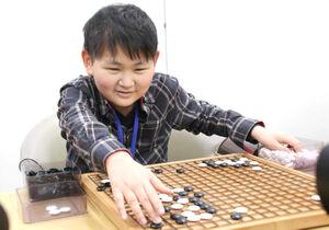 視覚障がい者として初めて日本棋院院生になった岩崎晴都さん