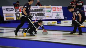 カーリング男子の世界選手権(日本カーリング協会提供)