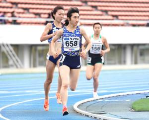 女子1500メートルでトップだった田中希実
