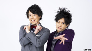 お笑いコンビ「ぺこぱ」のシュウペイ(左)と松陰寺太勇(右)=球団提供