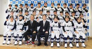 部員29人で始動する東海大静岡翔洋女子硬式野球部