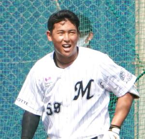 西川僚祐、2軍巨人戦でプロ初本塁打