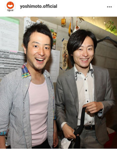 吉本興業の公式インスタグラム(@yoshimoto.official)より