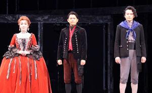 取材会を開催した(左から)キムラ緑子、今井翼、小西遼生(カメラ・増田寛)