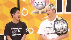 那須川天心(右)と、弟の龍心(C)TBS