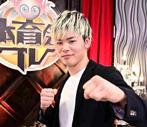 ボクシング転向を表明した那須川天心