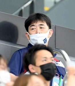 平井伯昌ヘッドコーチ