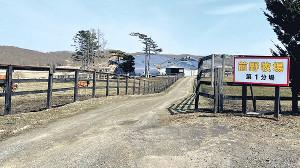 アサマノイタズラが生まれた前野牧場(同牧場提供)