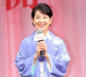 映画「いのちの停車場」完成披露試写会に登壇した吉永小百合