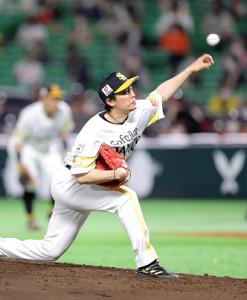 今季初勝利をマークしたソフトバンク・和田毅