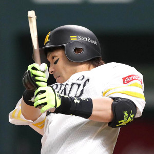 2回2死二塁から中前に先制打を放った松田宣浩