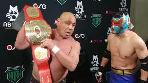 藤田和之(左)とケンドー・カシン