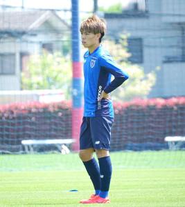 FC東京のMF内田宅哉(FC東京提供)