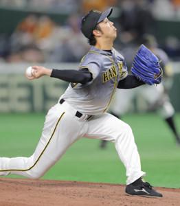 6回3失点で降板した阪神・青柳