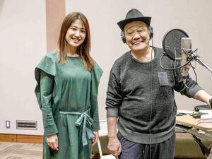 「いのちの停車場」応援歌を歌う西田敏行と作曲の村治佳織氏
