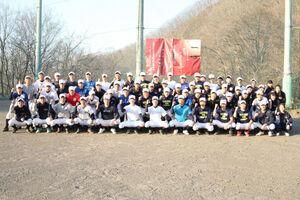 2年ぶりに開催される春季大会へ気合十分の札幌山の手ナイン