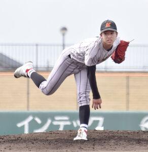 投打で活躍した未来富山の天川