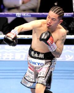 昨年大みそかの田中恒成との防衛戦に勝利した井岡
