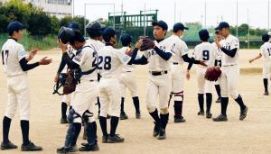 準決勝進出を決めた北大阪ナイン