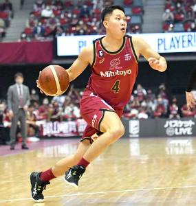 勝利に貢献した青木(C)KAWASAKI BRAVE THUNDER