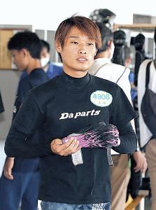 大阪のトツプルーキー上田龍星。強豪女子を相手に力を見せつけるか