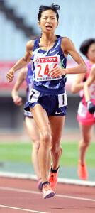 昨年12月の日本選手権1万メートルで日本新をマークして五輪代表を決めた新谷仁美
