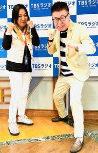 ラジオで対談した生島ヒロシとジャガー横田