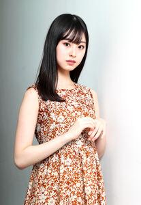 「世界で通用する女優になりたい」と目を輝かせる井本彩花(カメラ・関口 俊明)