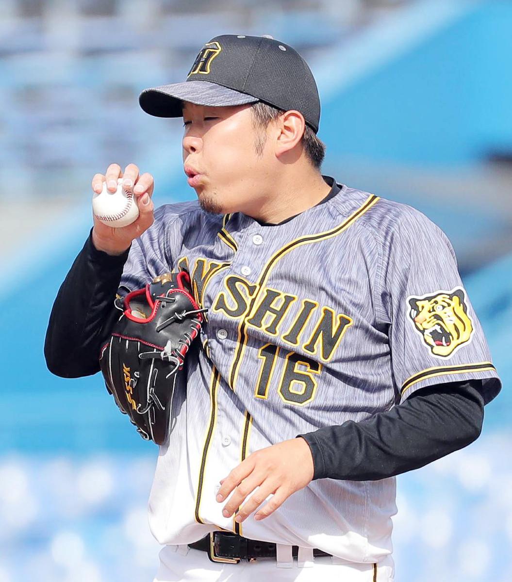 4回無死二塁、村上宗隆に同点二塁打を打たれた西勇輝