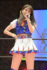 東京女子プロレスのデビュー戦で敗れたSKE48の荒井優希