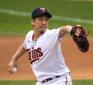 ツインズの前田健太投手